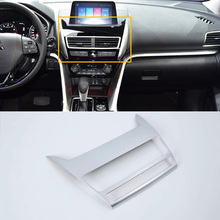 Car Accessories Interior Decoration GPS Navigation Cover For Mitsubishi Eclipse Cross 2018 Car-styling car styling main driver inside handle glasses storage box for mitsubishi eclipse cross interior accessories