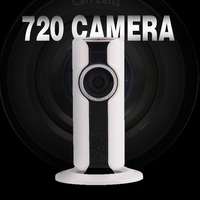 VR180 Degree Wireless WIFI HD Camera Panoramic Night Vision Intercom Ip Camera Alarm electronic shook Security Remote Monitor