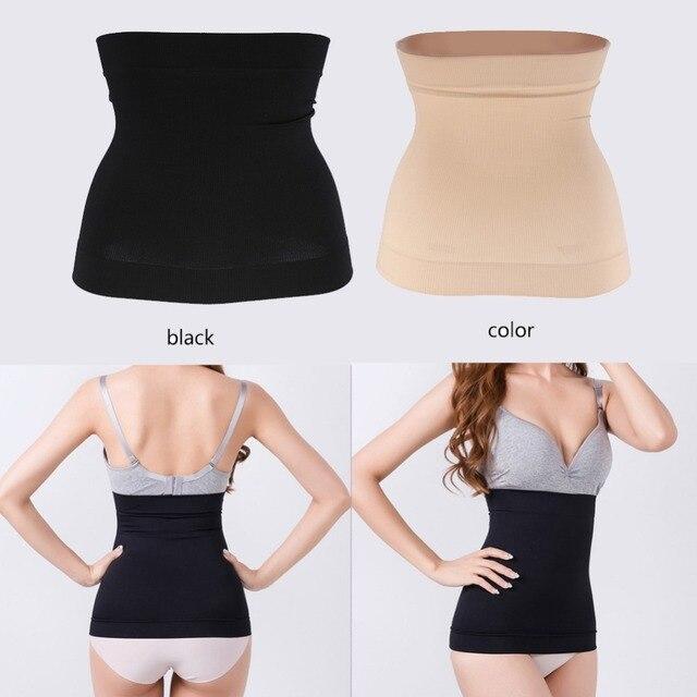 5fb1d207be Waist Trainer Corset Weight Loss Workout Body Shaper Seamless Hip Women  Shapewear Modeling Girdle Slimming Belt