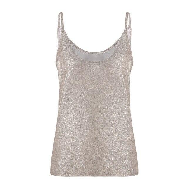 Women Camis Silk Women Camisole 2019 Summer Style Sexy Sleeveless Vest Slim White Halter Tank Top Roupas Femininas