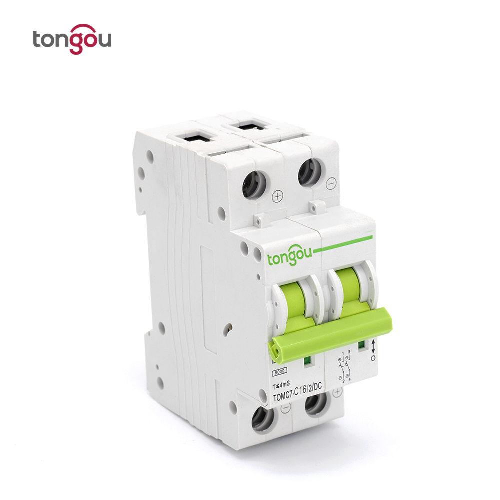 DC 2P 16A Circuit breaker MCB 2 Poles Solar Energy Photovoltaic PV Mini Air switch new 31657 circuit breaker compact ns250n tmd 40 a 4 poles 4d