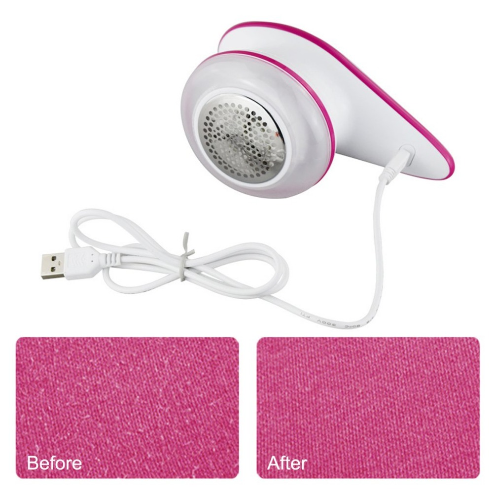 цена на New Mini Portable Universal USB Rechargeable Ball Trimmer Household Electric Fuzz Lint Fabric Remover Wool Ball Shaving Machine