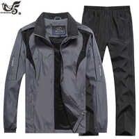 Marque survêtement hommes sportswear sweat + pantalon 2 pièces ensemble de vêtements outwear stage survêtement joggers Sport costume hommes