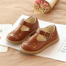 2019 spring new children baby small leather shoes casual non