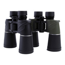 Powerful Binoculars Telescope 7x50 HD Waterproof Lll Night Vision Binocular with Long Eye Relief Outdoor Camping Hunting Tools 12x magnify hd binocular telescope 12x25 waterproof long range professional hunting hd powerful binoculars light night vision