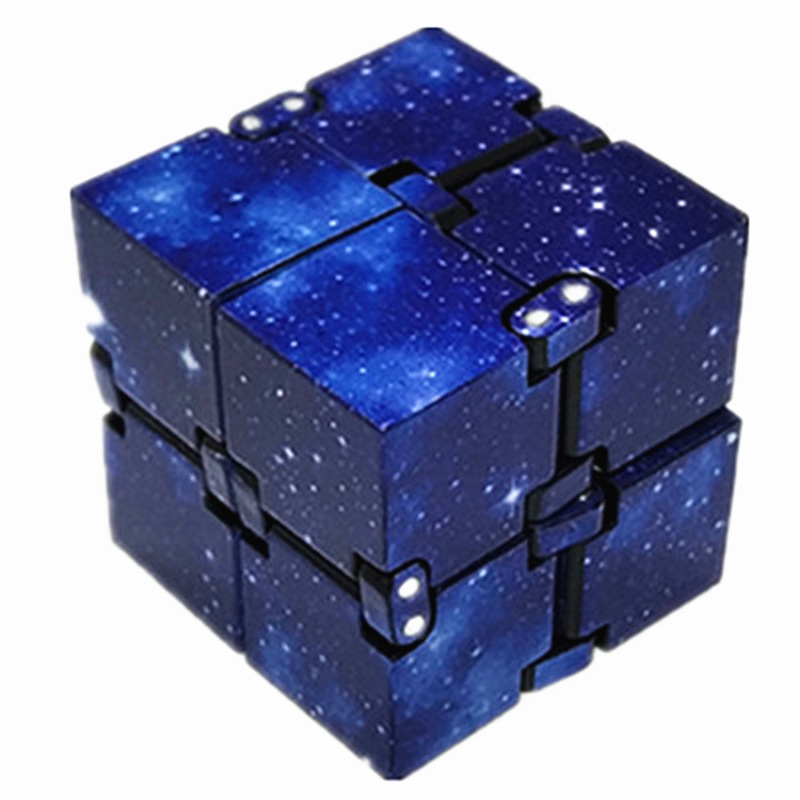 Toys Anti-Pressure-Toy Magic-Cube Stress-Relief Anxiety EDC Mini Blocks Best-Gift Funny