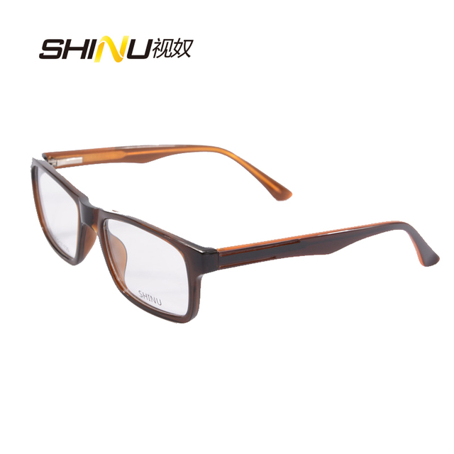 Acetate eyeglasses Frame women Men\'s Brand Name Designer Plastic ...