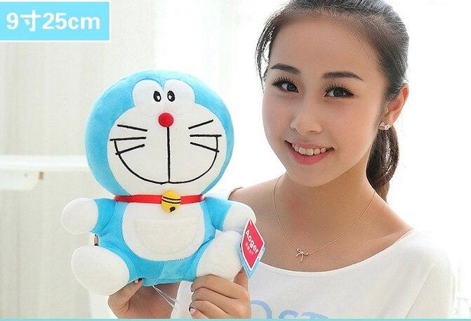 23cm/30cm/40cm lovely doraemon toys, kawaii plush doreamon plush toy, anime plush doreamon doll,