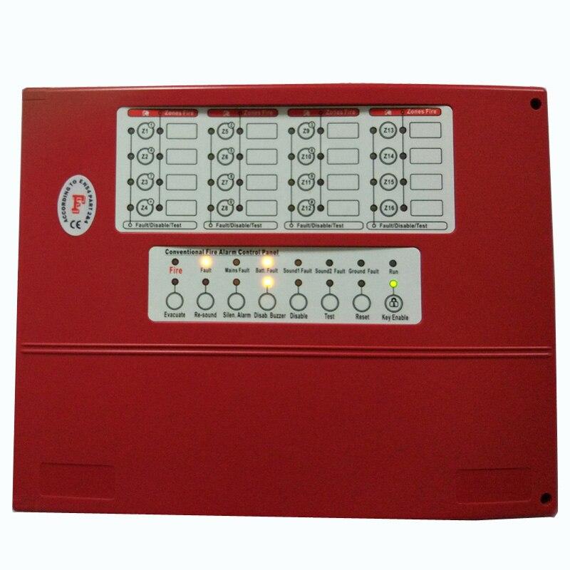 Панели управления пожарной сигнализации с 4 зон сигнализации Управление Системы ...