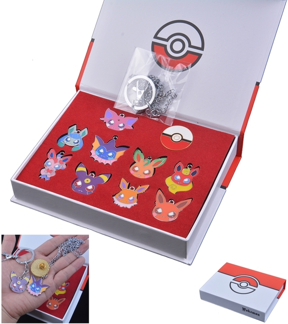 Набор брошек Pokemon Go 10 шт.