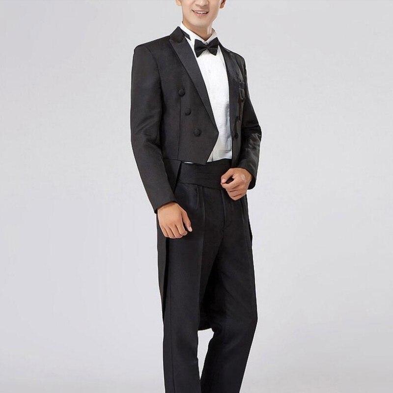 De white Mens Parti Noir Formelle Nouvelle Costumes Costume Libre Machaon Mode Black Tailcoat Offre Pantalon Revers Veste Mariage Blanc 4 Spéciale Taille TqOnI7x1