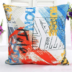 Image 3 - Novel Printed Pattern Pillowcases Cover Super fabric Home Bed Decorative Throw Bedding Pillow Case