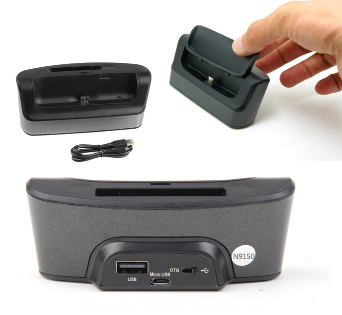 USB OTG Desktop Dock Charger Cradle Stand Holder For Samsung Galaxy Note Edge N9150 Charging Dock Station Phone Charger