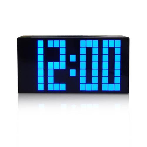 Led relógio de mesa grande relógio de parede Digital com