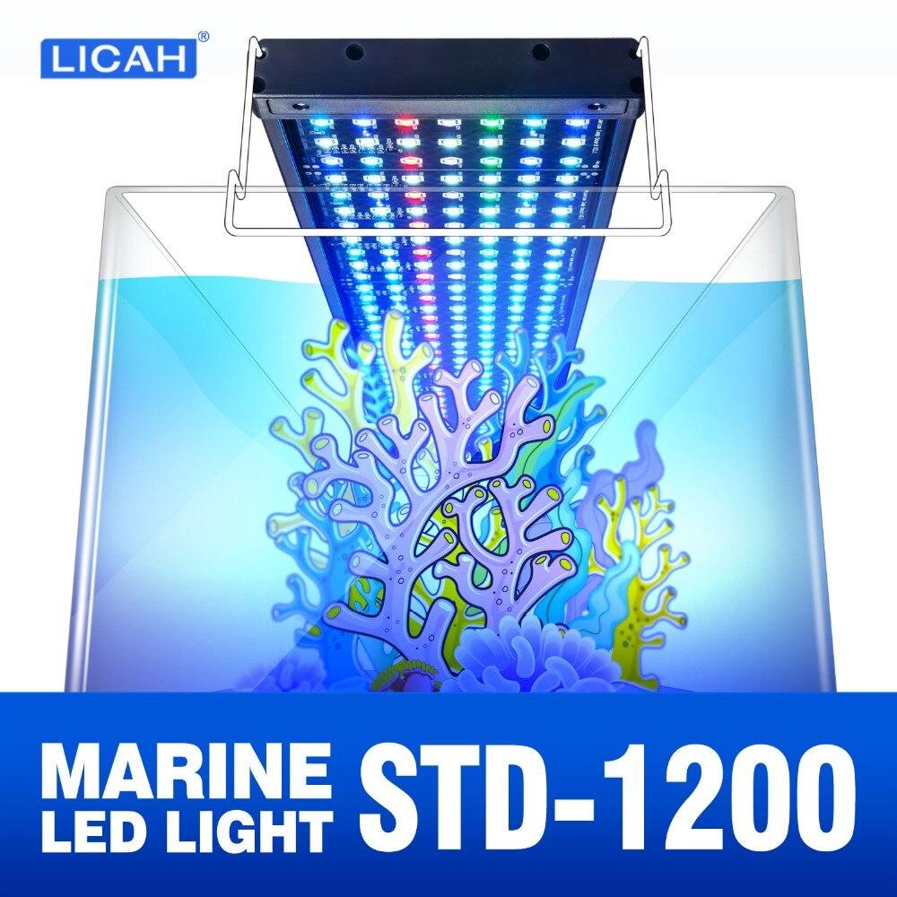 LICAH STD-1200 Shpping Livre do DIODO EMISSOR de LUZ Do Aquário de Água Salgada