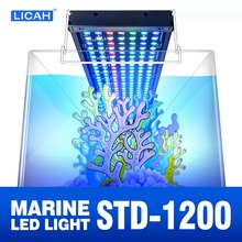 LICAH morskich lampa LED do akwarium STD 1200