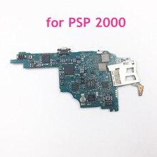 Reemplazo de Tablero Principal de placa base usada Original para consola de juegos Sony PSP 2000, PCB, reparación de placa