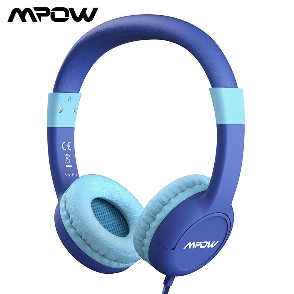 Mpow CH1S Per Bambini Cuffie 85DB Limitata Protezione Dell'udito Cuffie Noise Cancelling Headphones Del Capretto Per I Ragazzi/Ragazze Del Capretto Con Il Mic