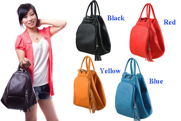 New Las Retro Pu Leather Bag Boutique Purses And Shoulder Backpack Tassel Newest Style
