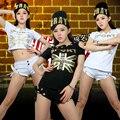 2016 Envío Libre de La Bandera de impresión Ds traje ultra-bajo de talle solo-cortocircuitos jazz hip-hop hiphop danza jazz cortocircuitos femeninos trajes