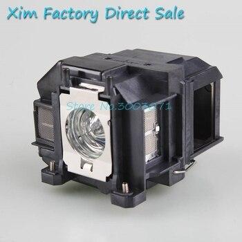 цена на Hiot sale  ELPLP67 V13H010L67 For Epson EB-C30X EB-S01 /EB-S02  EB-S02H EB-S11 EB-S12 EB-TW480 EB-W01 Replacement Projector Lamp