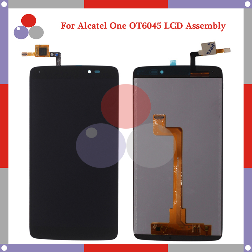 For Alcatel One Touch Idol 3 6045 OT6045 LCD Screen Display + Touch Screen Digitizer Assembly Free Shipping