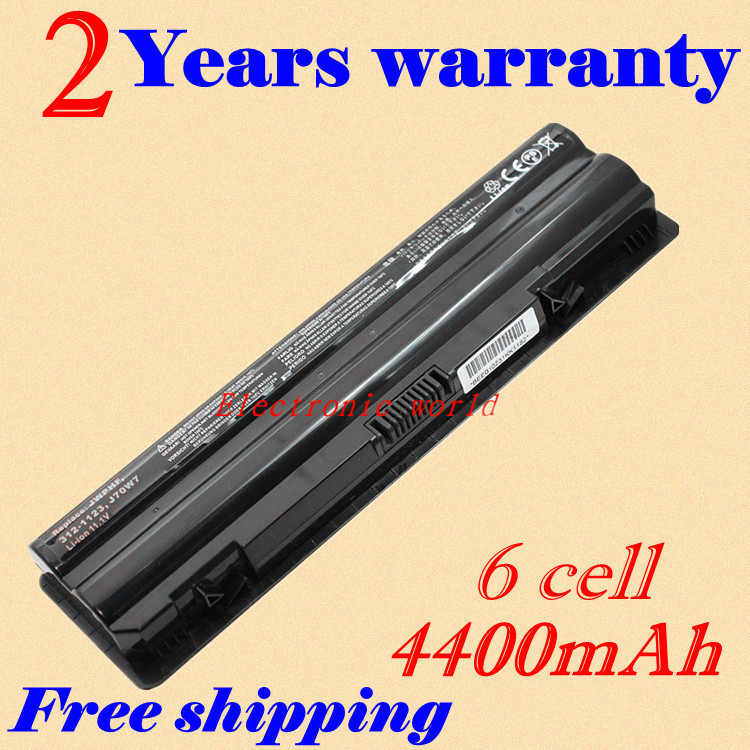 JIGU New laptop Battery for Dell XPS 14 L401X 15 L501X 17 L701X L702X L502X 312-1123 J70W7 JWPHF