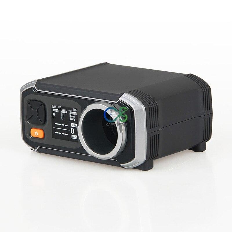 AC6000 High-Power Airsoft Schießen Chronograph FPS Geschwindigkeit Tester LCD Display 5 Speicher Slots Kostenloser gs35-0007