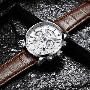 Image 5 - Crrju腕時計クラシック機能スポーツ防水クォーツ腕時計カレンダー時計ビジネス腕時計レロジオmasculino