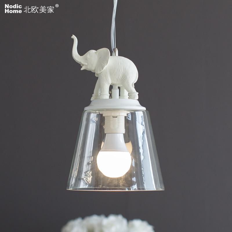 Led Pendant Light American country simple retro creative resin Led pendant lamp For Dinning Room E14 Festival Led Lighting