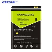 X12 WONKEGONKE Para Cubot Bateria Batterie Bateria de Alta qualidade + número de rastreamento
