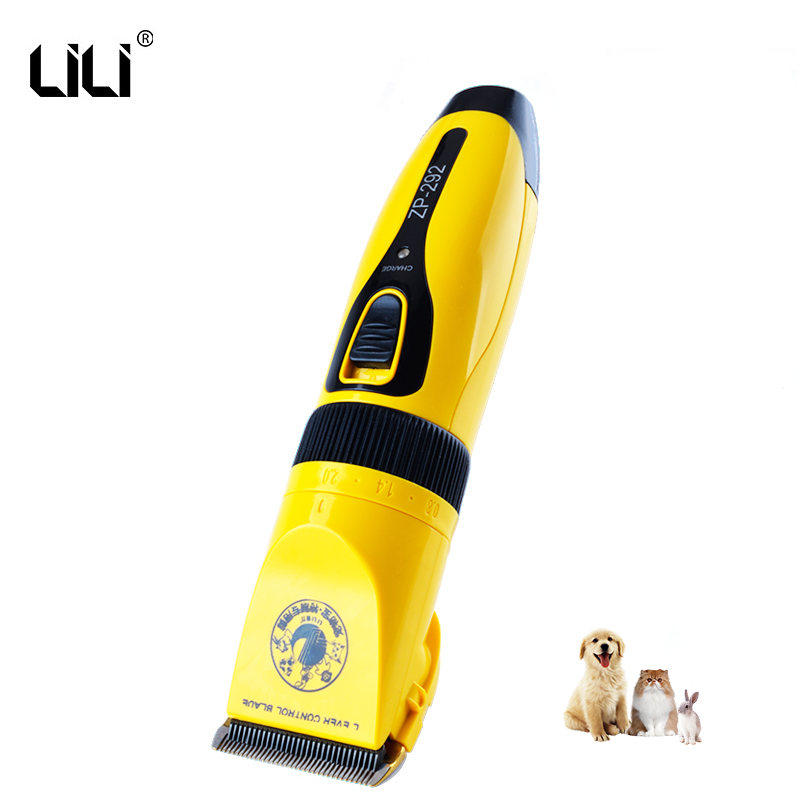 LILI ZP-292 Electric Pet Clipper Professional Cat Dog Hair Trimmer Cutter Grooming Clippers Dog Haircut Machine Scissor 100-240V 100pcs professional stainless steel cuticle cutter nipper clipper edge cutter shear manicure trimmer scissor plastic