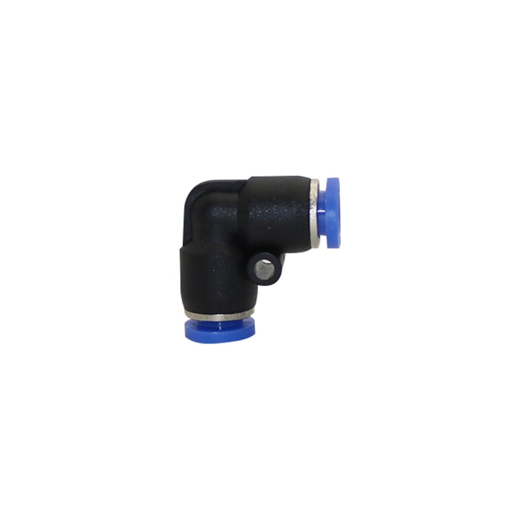 5pcs 6mm L Shaped Quick Connector 90 Degree Butt Quick Connectors Pneumatic Pipe Fittings Low Pressure Mist Cooling Reptile Tool