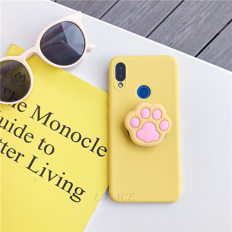 3D Cartoon Silicone Phone Standing Case for Xiaomi And Redmi Phones 20