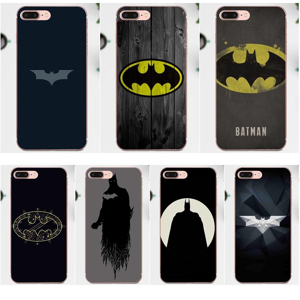Top Detailed Popular TPU Transparent Batman Logo For Xiaomi Mi3