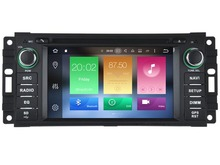 Octa(8)-Core Android 6.0 CAR DVD player FOR JEEP COMPASS COMMANDER LIBERTY car audio gps stereo head unit Multimedia navigation