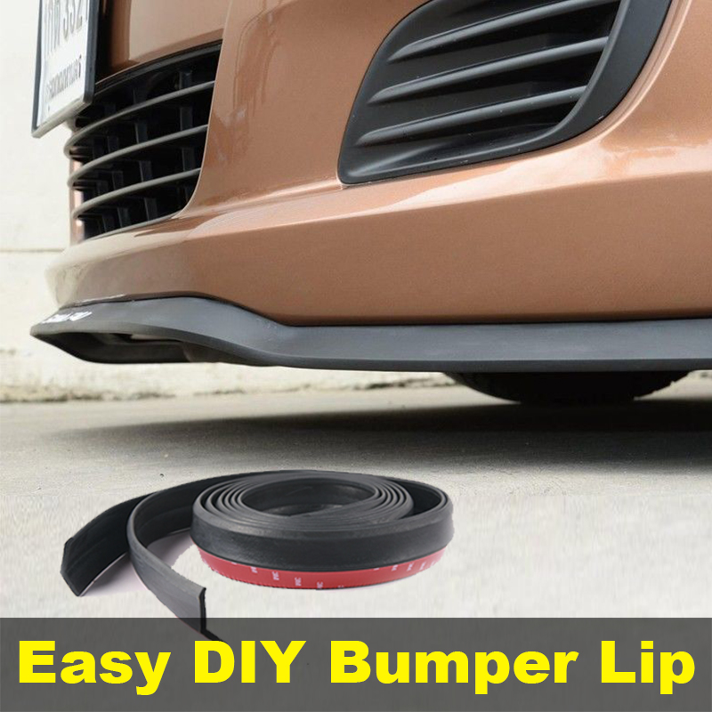 Bumper Lip Lips For Audi A4 2000~2014 / Top Gear Shop Spoiler For Car Tuning / TOPGEAR Recommend Body Kit + Strip
