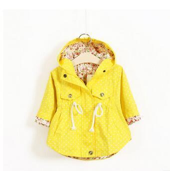 2016 novo roupas de algodão das crianças de comércio exterior fabricante de onda casaco impresso casaco batwing das crianças por atacado das meninas