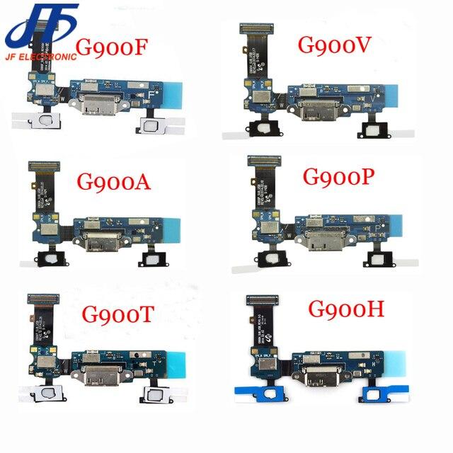 10 adet için Samsung Galaxy S5 yuva konnektörü şarj USB şarj portu Flex kablo G900F G900A G900T G900V G900P G900H G900M