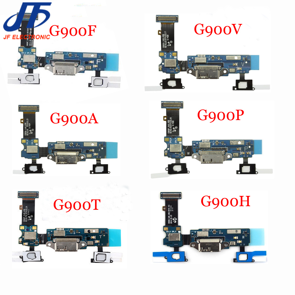 10pcs Dock Connector Charger USB Charging Port Flex Cable For Samsung Galaxy S5 G900F G900A G900T G900V G900P G900H G900M