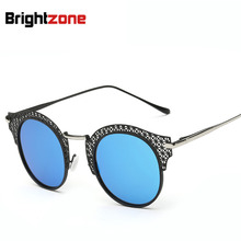 New Pattern Fashion Hollow Out Sunglasses Ma'am Trend Sunglasses