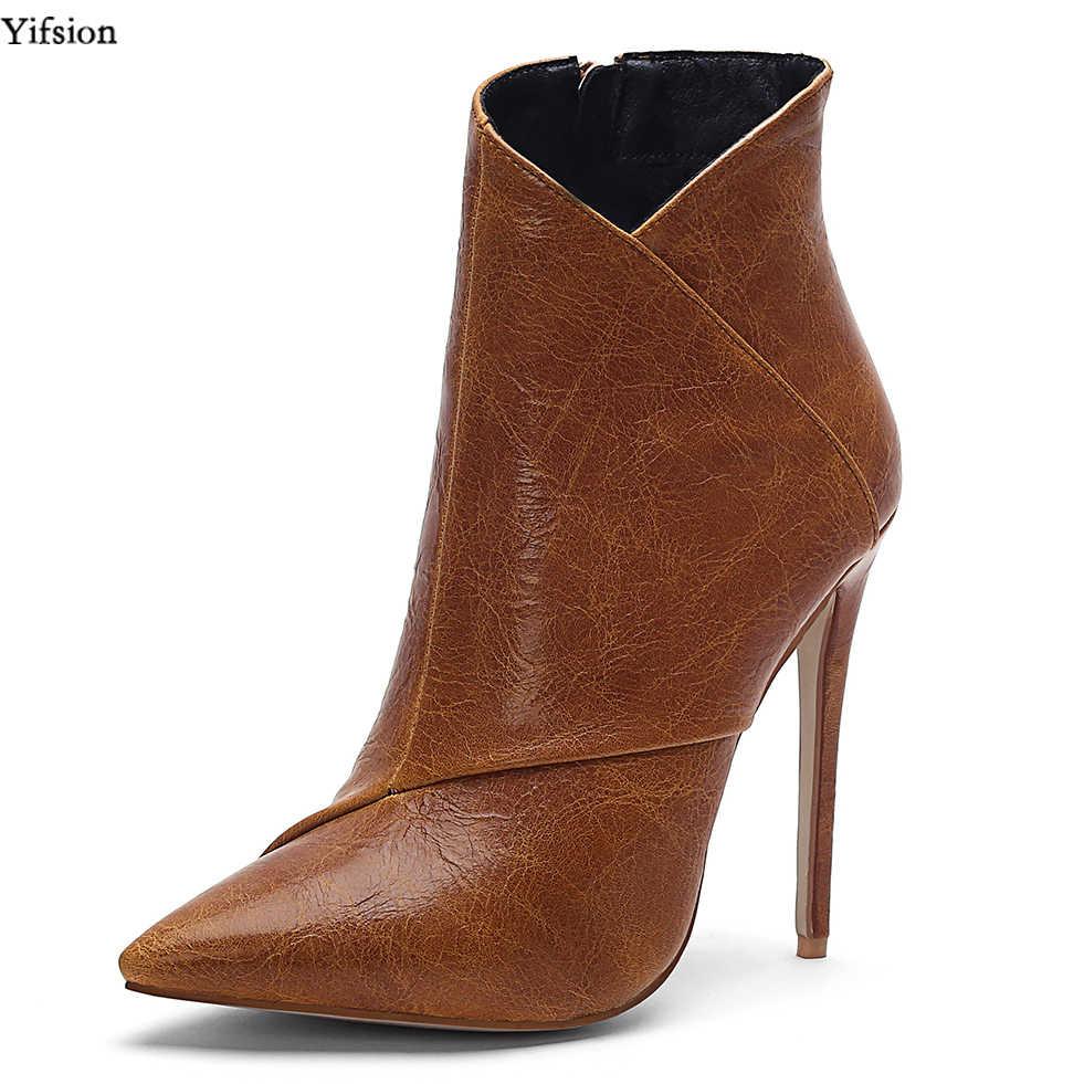 Olomm New Women Winter Ankle Boots