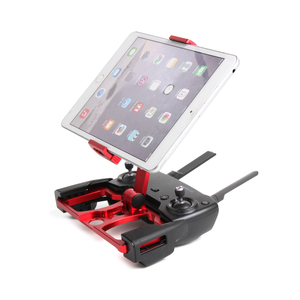 Image 3 - Aggiornato Del Basamento di Alluminio Del Supporto per DJI Mavic Aria 2 Pro Air Scintilla Clip In Metallo Del Basamento del Supporto per il telefono ipad tablet crystalSky Schermo