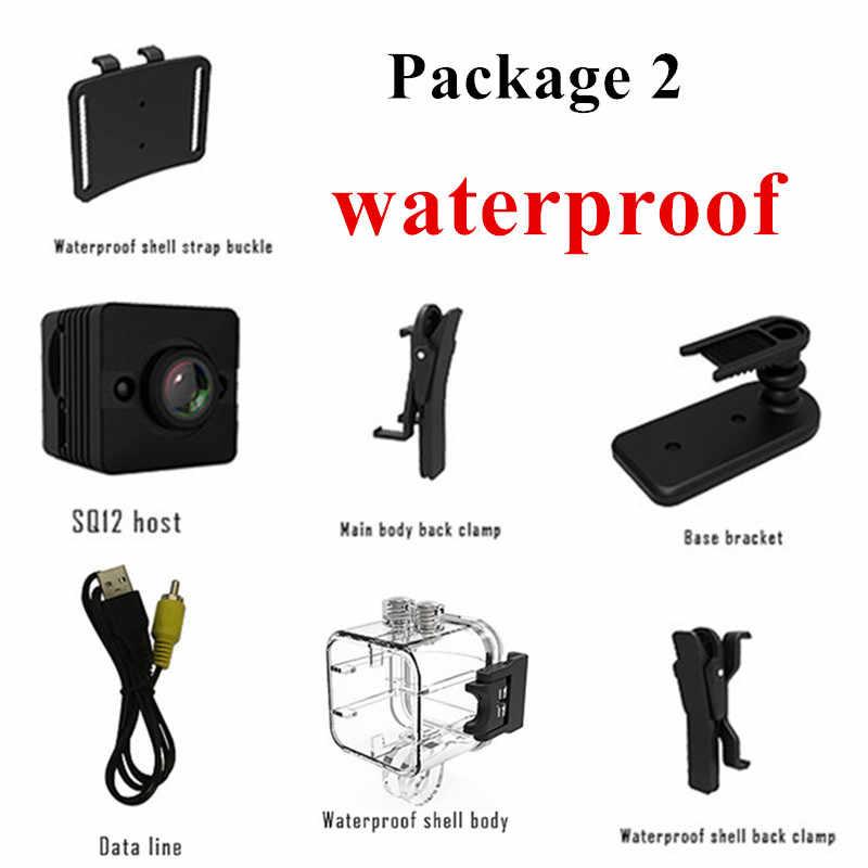 SQ12 HD mini camera micro camera Waterproof MINI Camcorder small camera DVR Mini video camera Sport wireless SQ 12 mini cam