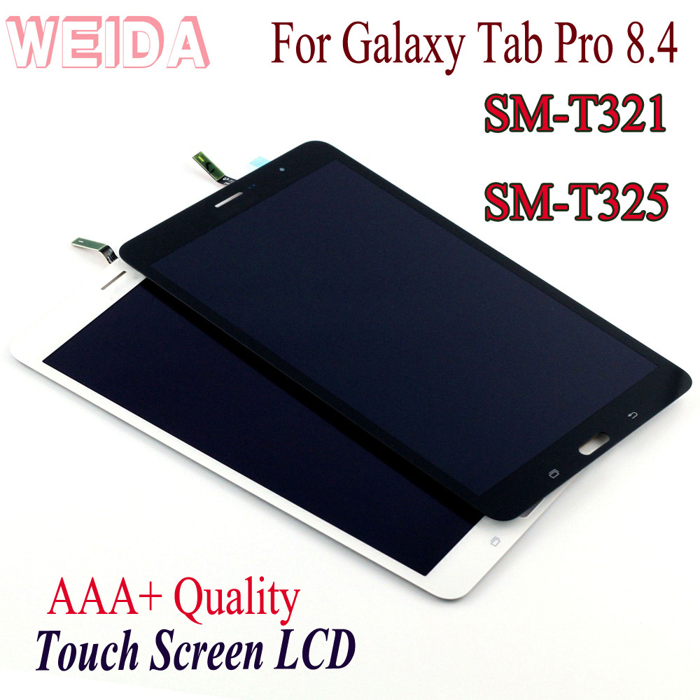 "WEIDA LCD Replacment 8"" For Samsung Galaxy Tab Pro 8.4 T321 SM T321 SM T325 LCD Display Touch Screen Assembly T321 3G