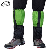 WIND TOUR Adult Waterproof Velvet Leg Protection Covers For Ski Hiking Climbing Legwarmers Skiing Gaiters Boots