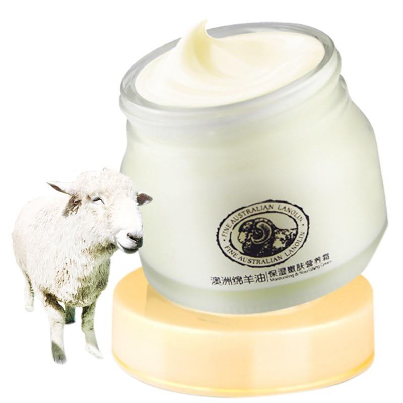 Face Moisturizing Lanolin Oil Sheep Cream Laikou Whitening Anti-Wrinkle Nourishing Beauty Creams Skin Care
