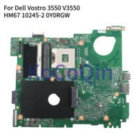 Kocoqin placa-mãe do portátil para dell vostro 3550 v3550 mainboard hm67 10245-2 CN-0Y0RGW 0y0rgw