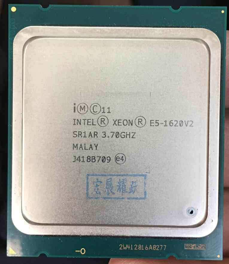 Intel Xeon Processor E5 1620 V2  E5-1620 V2 CPU LGA 2011 Server processor 100% working properly Desktop Processor