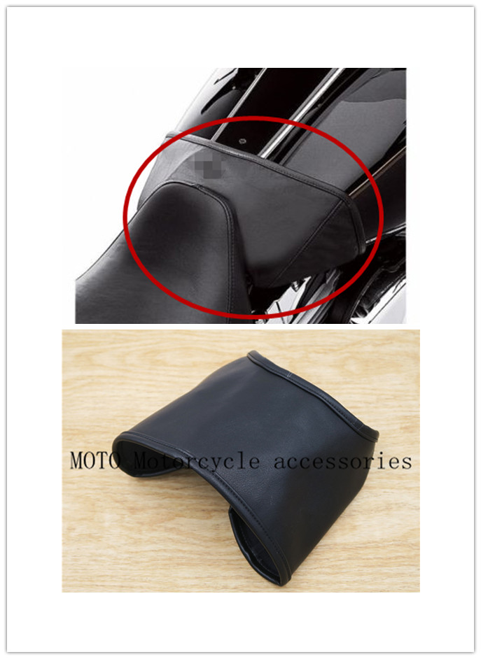 Fuel Tank Bra Cap Oil Tank Cover Guard Protect for Harley Touring Freewheeler Street Electra Tri Glide Road King FLHR 1997-2017 saddlebag bags steel guard bracket for harley davidson touring models electra street glide road king flhr flht fltr 1997 2008